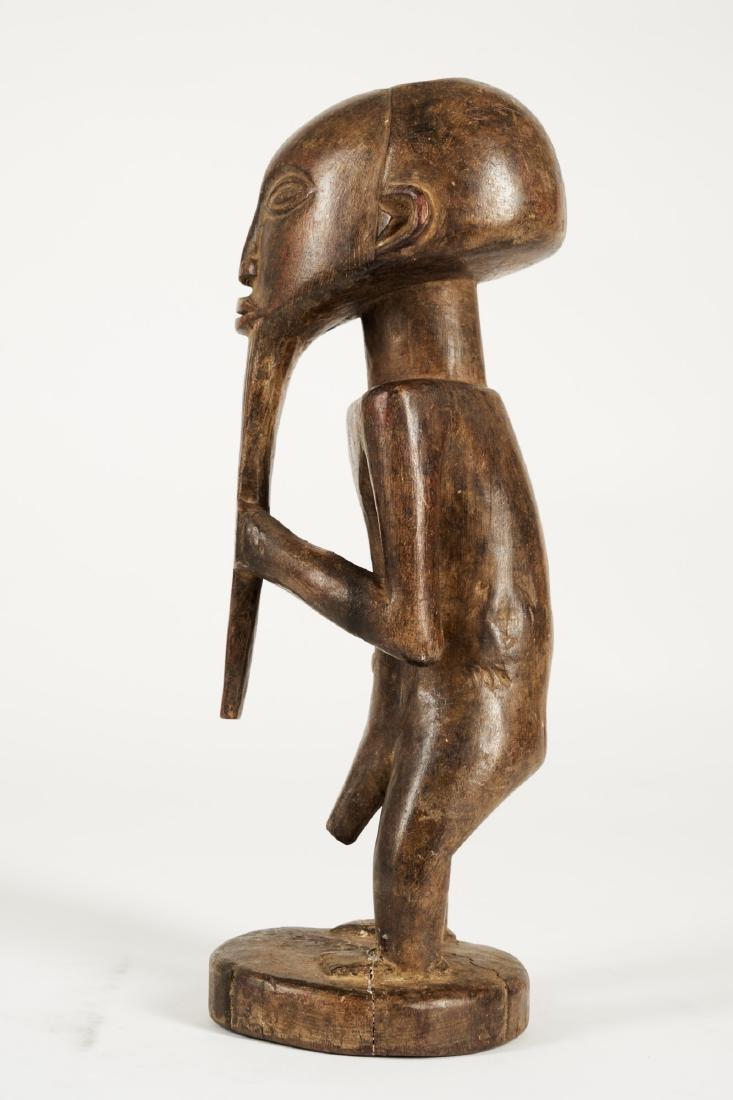 Kusu bearded Statue from Ituri province Tribal Art - 3