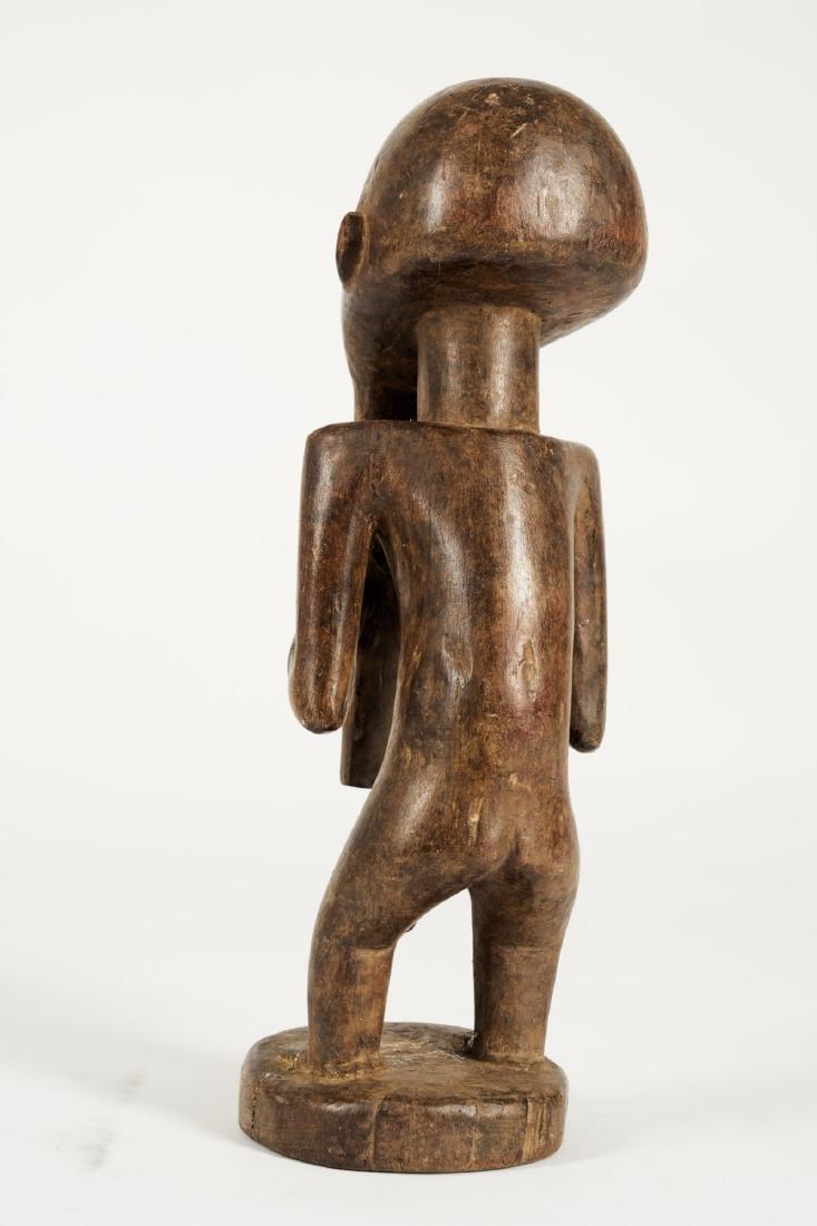 Kusu bearded Statue from Ituri province Tribal Art - 4