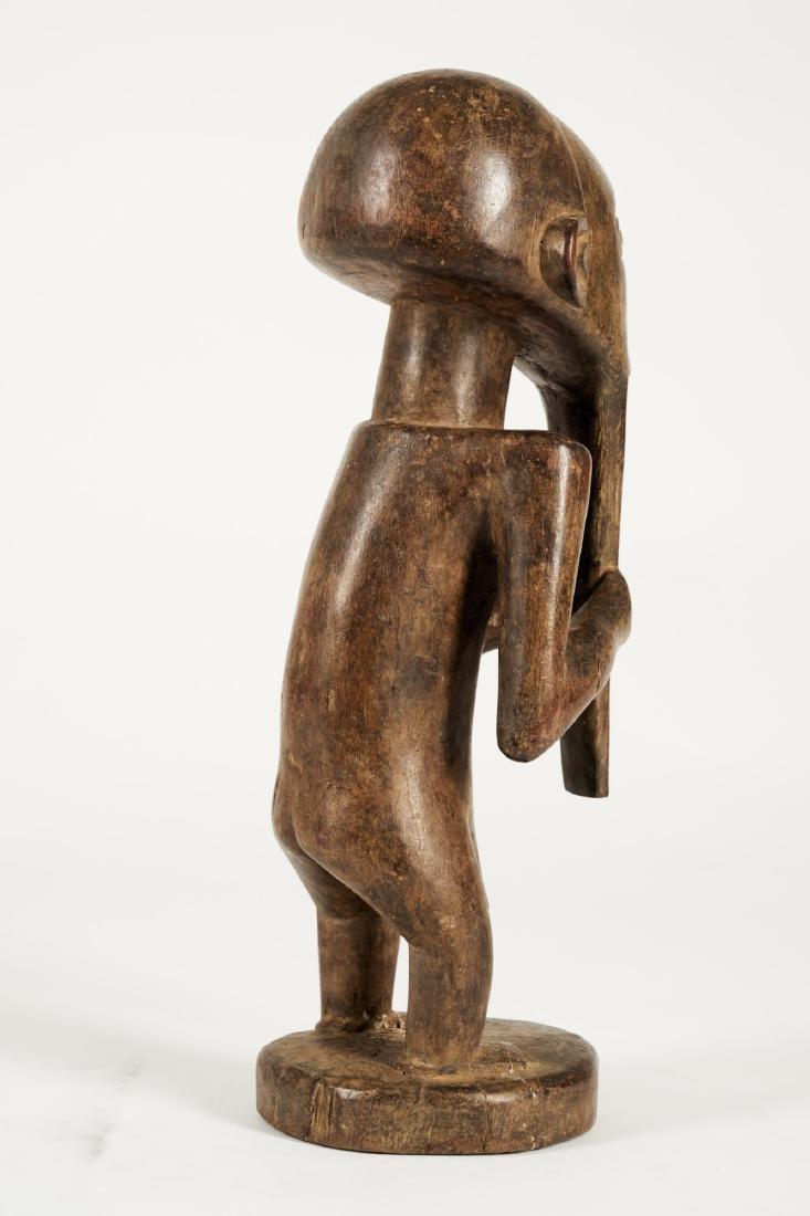 Kusu bearded Statue from Ituri province Tribal Art - 5