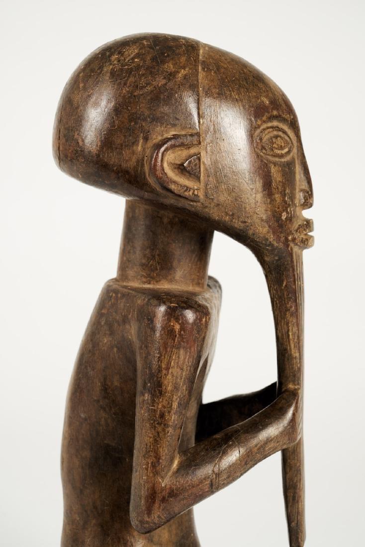 Kusu bearded Statue from Ituri province Tribal Art - 6