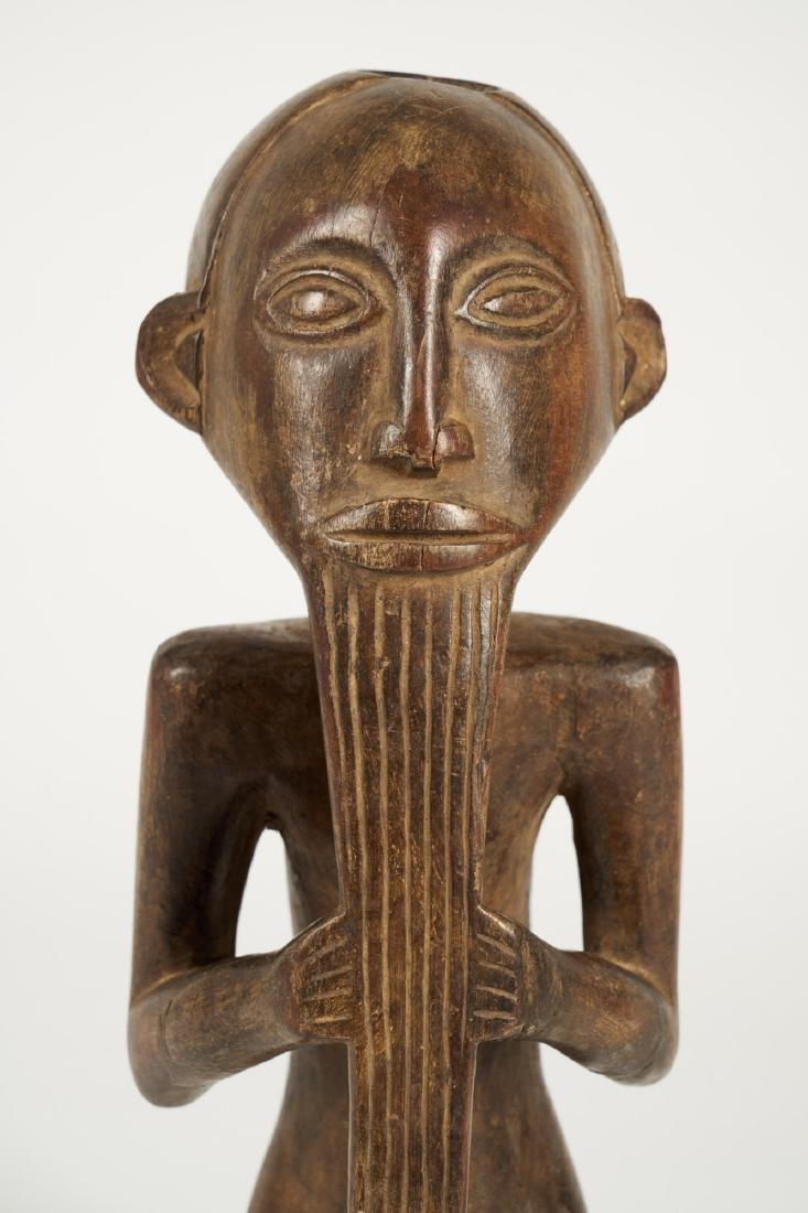Kusu bearded Statue from Ituri province Tribal Art - 7