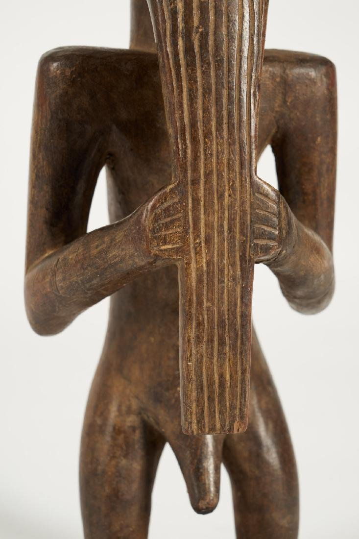 Kusu bearded Statue from Ituri province Tribal Art - 8