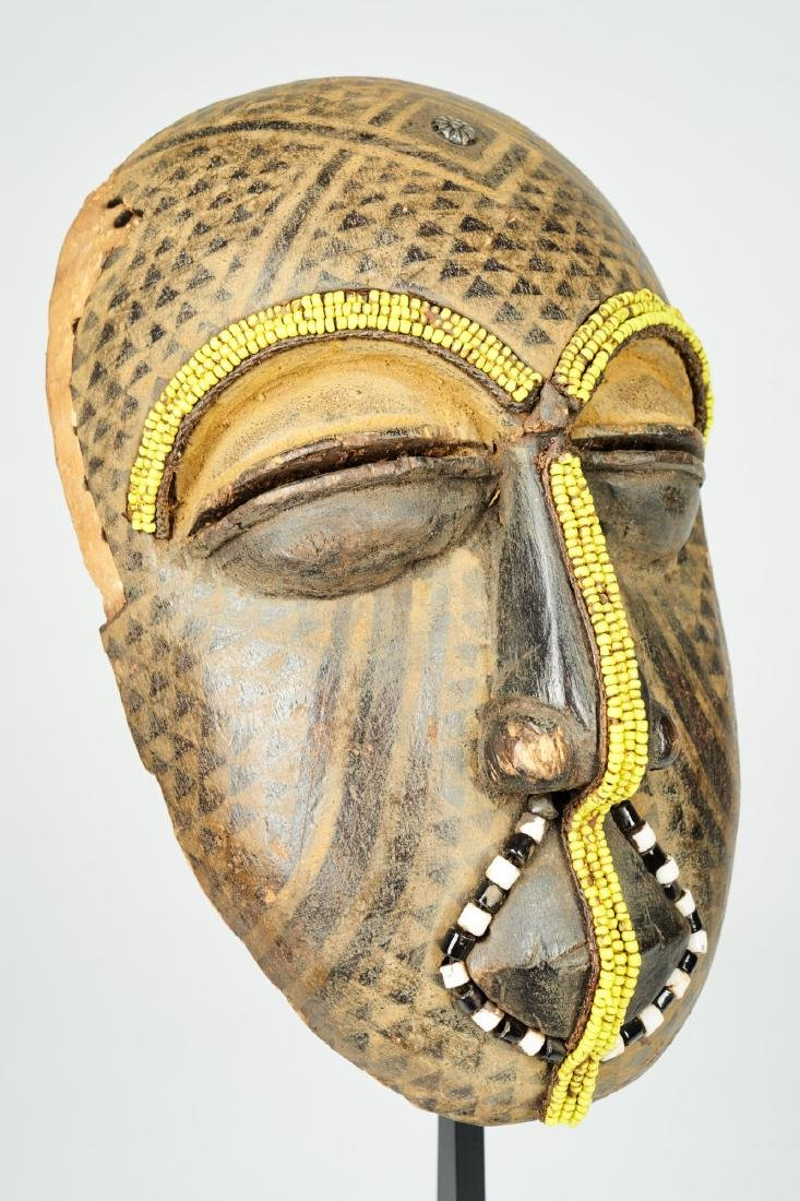 Ngaady A Mwaash Kuba face mask Tribal Art