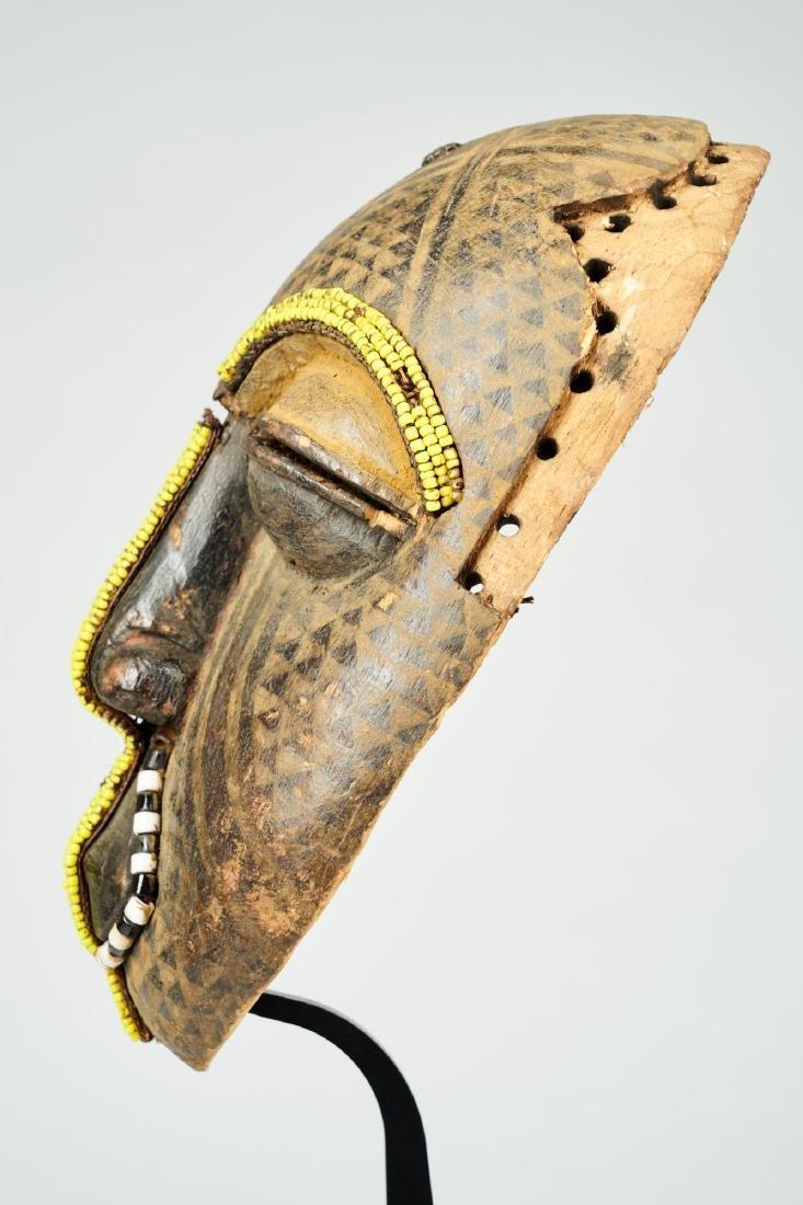 Ngaady A Mwaash Kuba face mask Tribal Art - 3