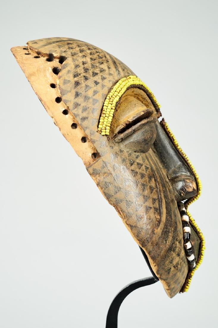 Ngaady A Mwaash Kuba face mask Tribal Art - 4