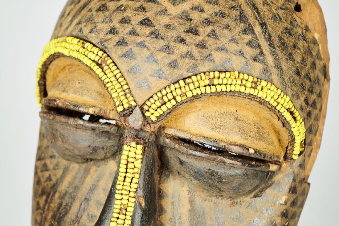 Ngaady A Mwaash Kuba face mask Tribal Art - 7