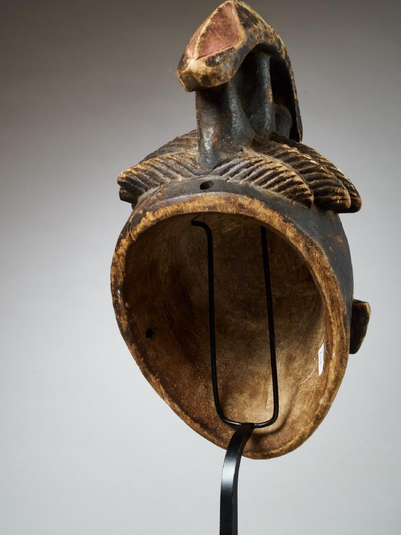 Yoruba Helmet Mask Tribal Art - 5