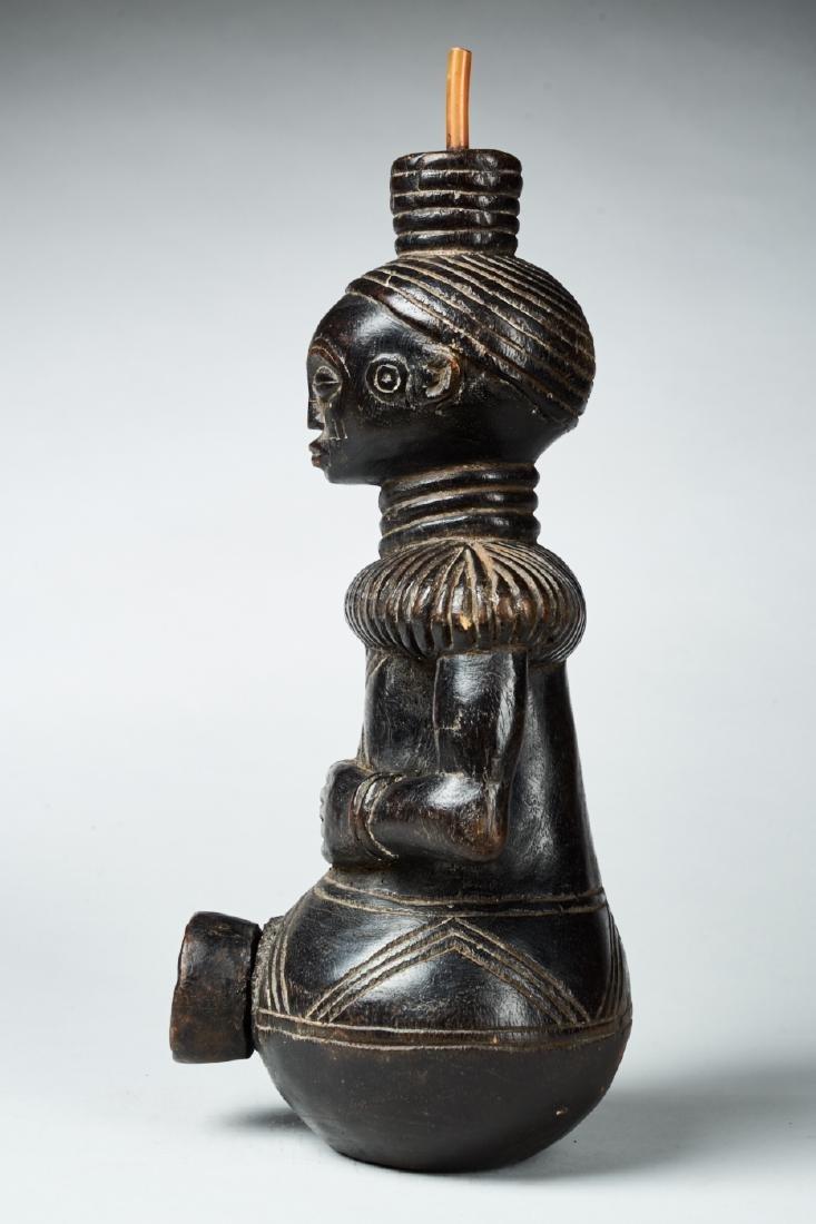 Figural Kongo Tobacco Pipe Tribal Art - 3