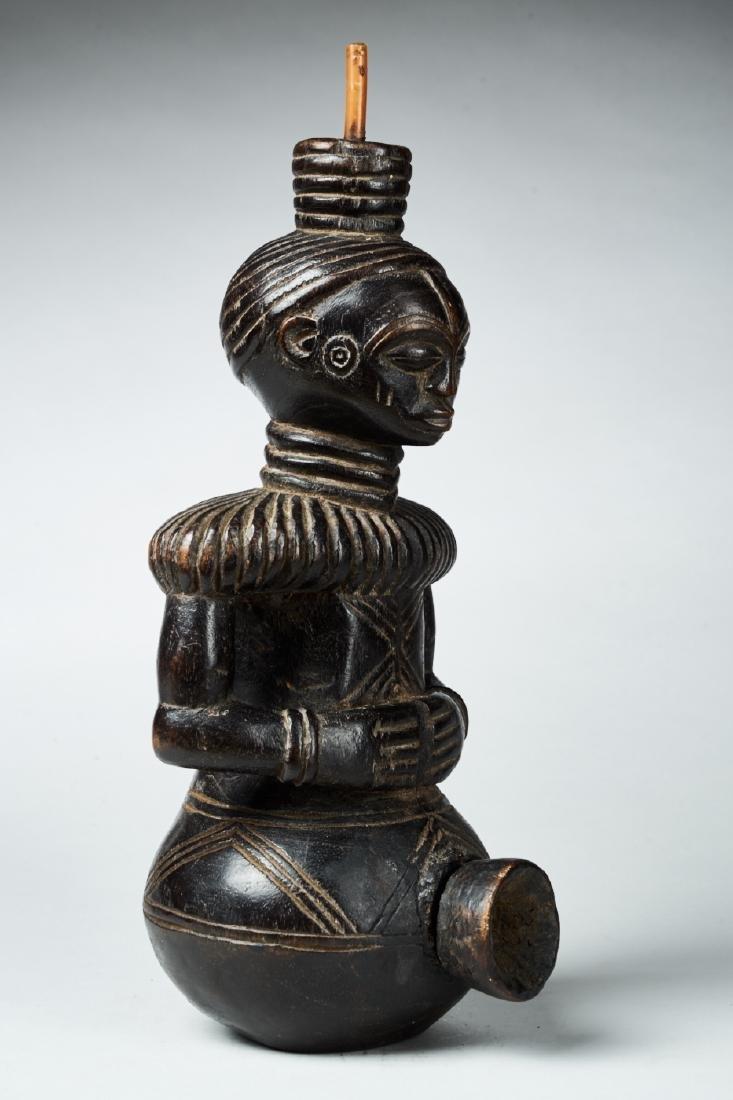 Figural Kongo Tobacco Pipe Tribal Art - 5