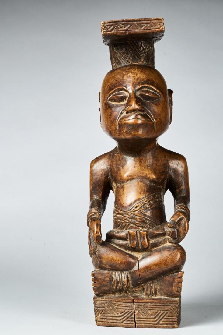 Kuba Ndop Figure with fine patina Tribal Art - 3