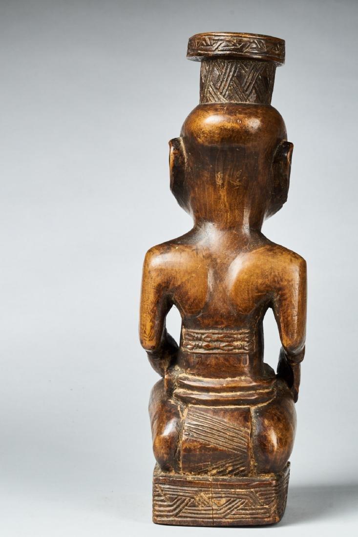 Kuba Ndop Figure with fine patina Tribal Art - 5