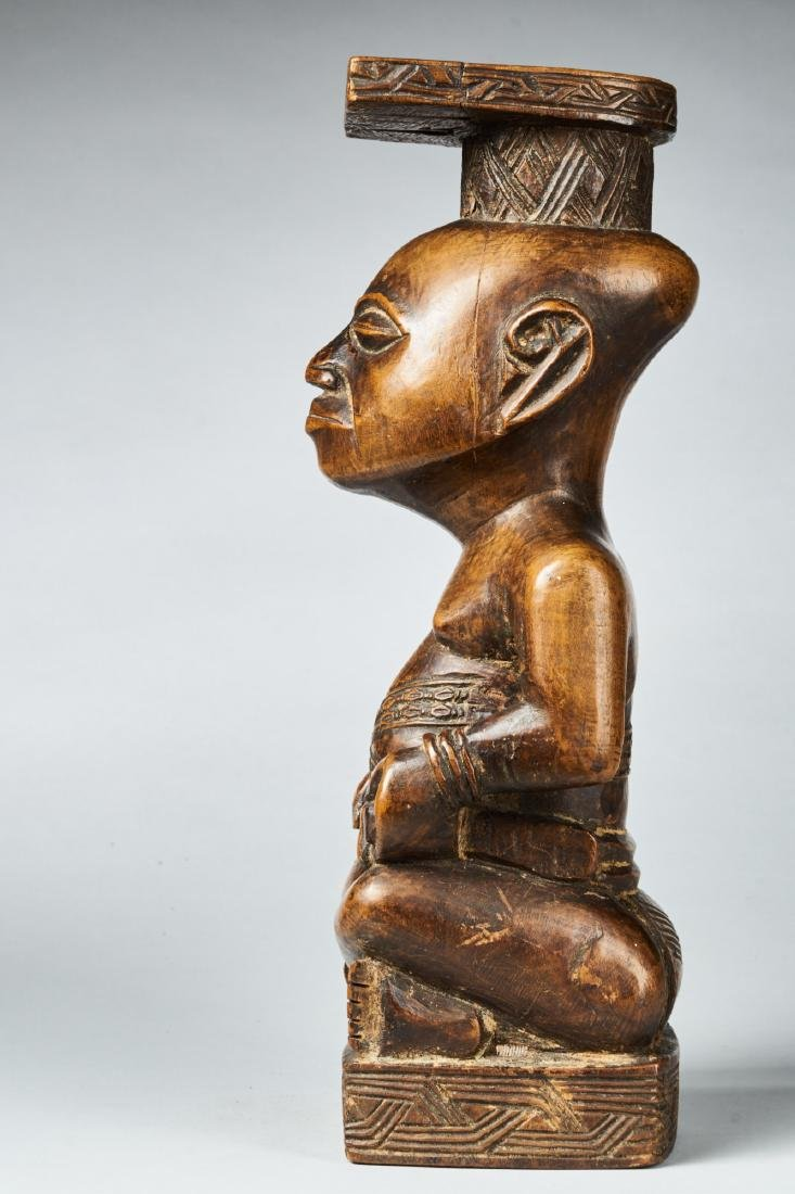 Kuba Ndop Figure with fine patina Tribal Art - 6