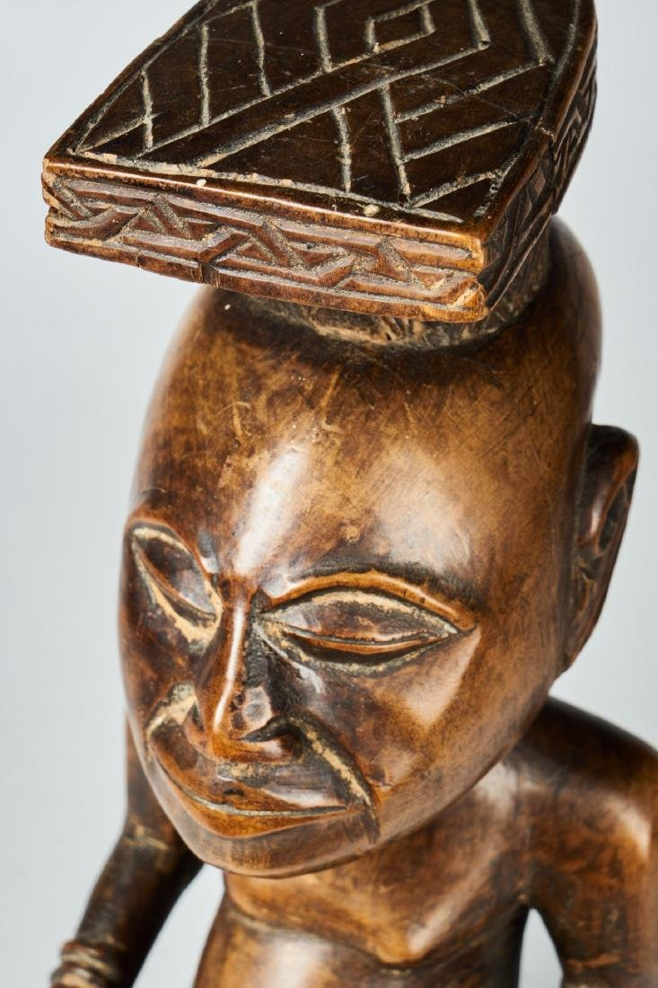 Kuba Ndop Figure with fine patina Tribal Art - 7