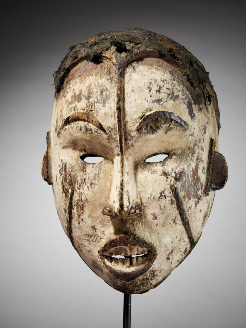 Idoma/Igbo Face Mask from Nigeria Tribal Art - 2