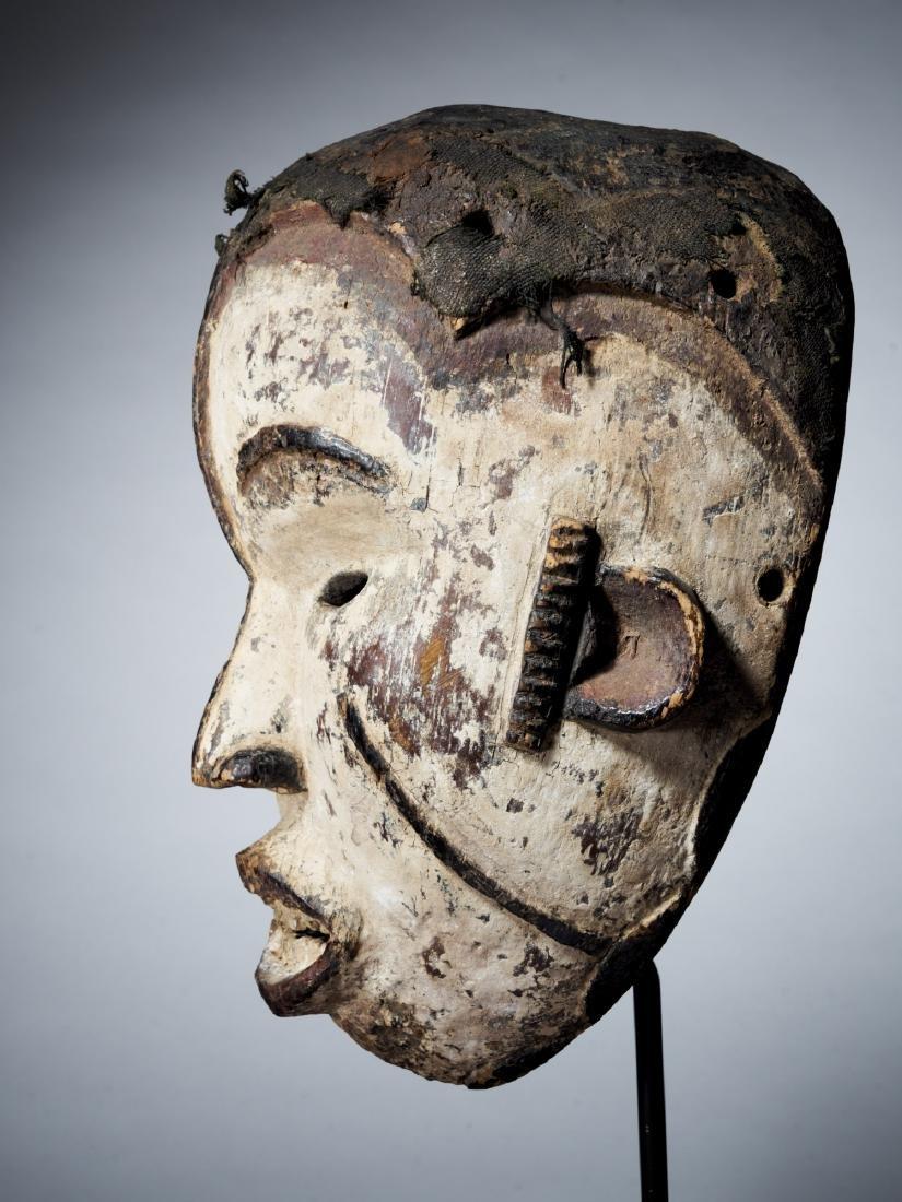 Idoma/Igbo Face Mask from Nigeria Tribal Art - 3