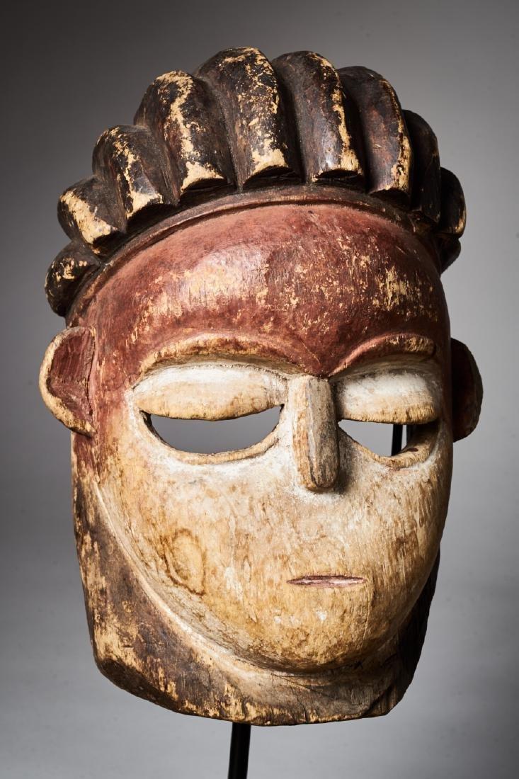 Vuvi Polychromed Face Mask Tribal Art