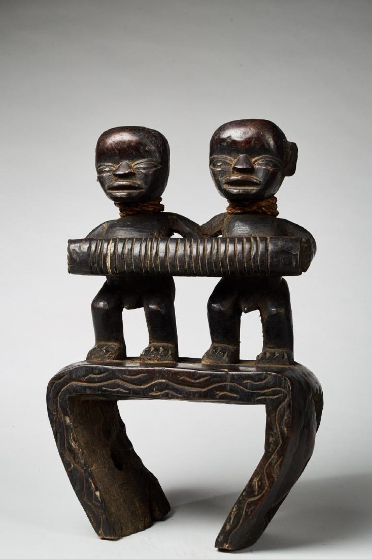 West African Loom Pulley Tribal Art