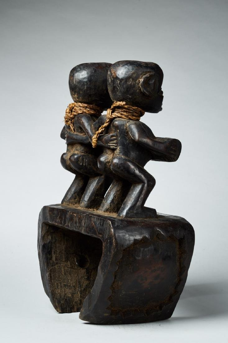 West African Loom Pulley Tribal Art - 4