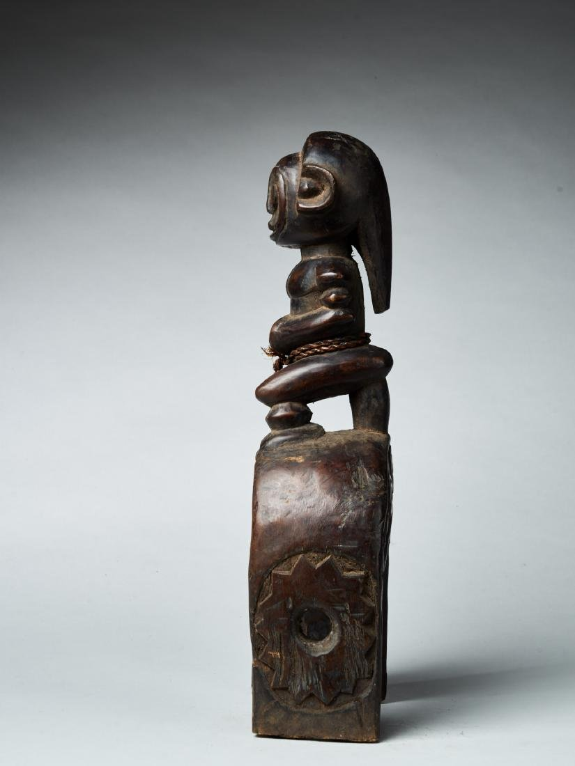 West African Loom Pulley Tribal Art - 2