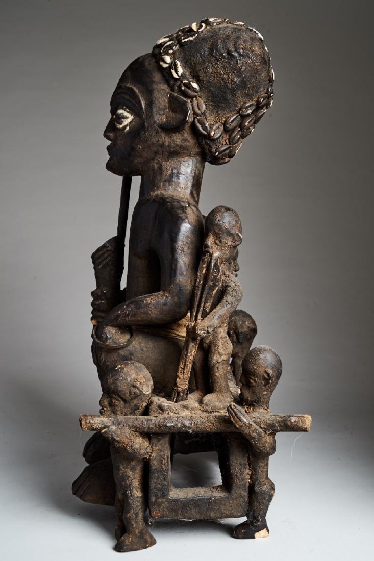 African Hard Wood Ancestor Statue Tribal Art - 5