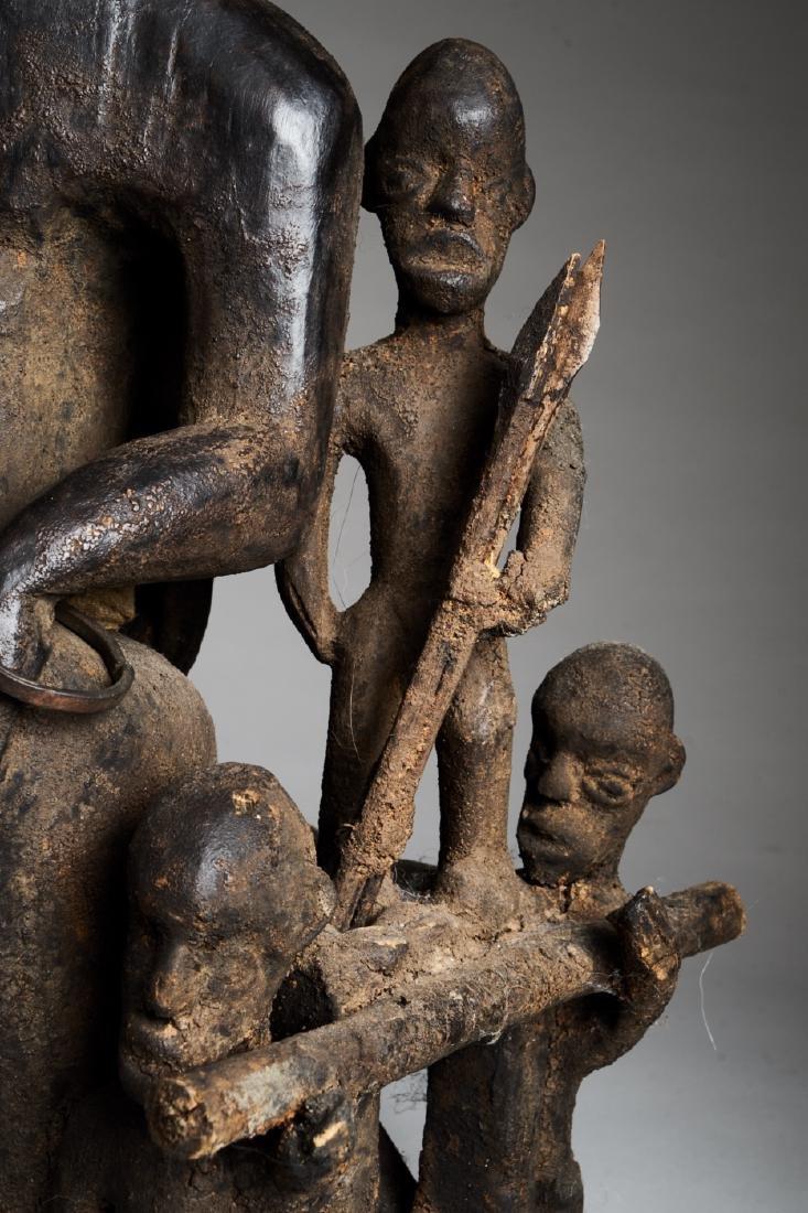 African Hard Wood Ancestor Statue Tribal Art - 6