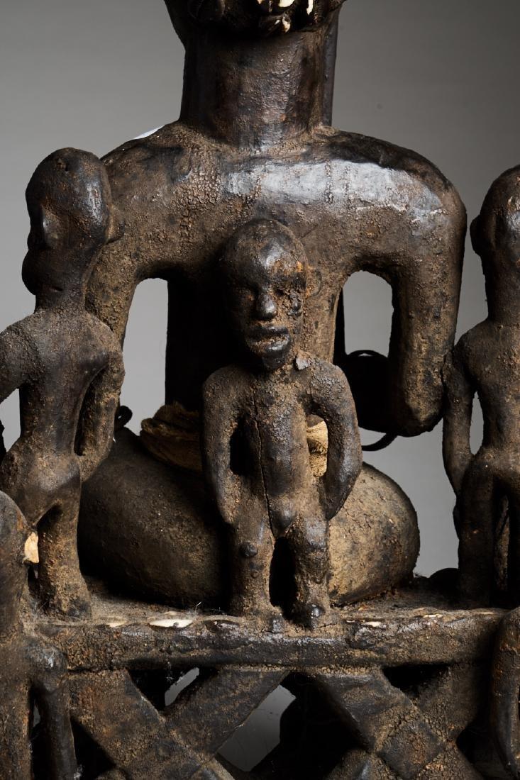 African Hard Wood Ancestor Statue Tribal Art - 8