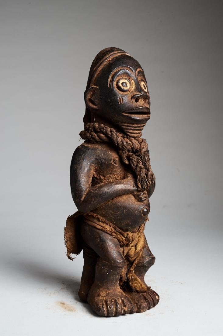 West African Standing Male Statue Tribal Art - 2