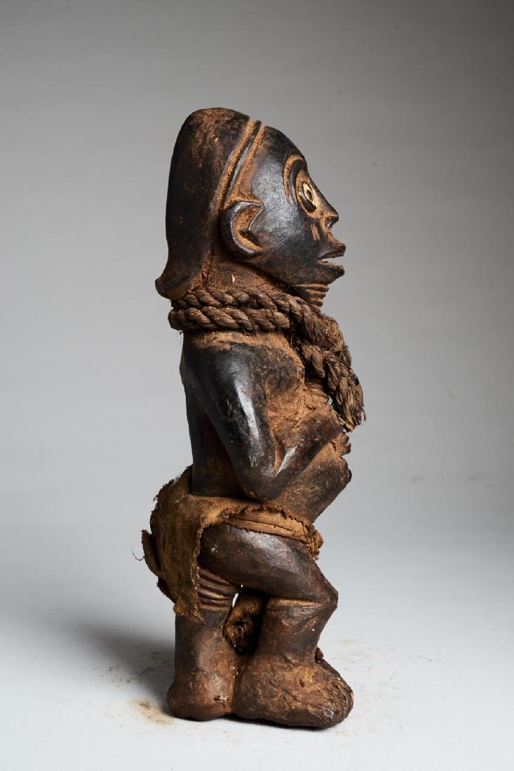 West African Standing Male Statue Tribal Art - 3