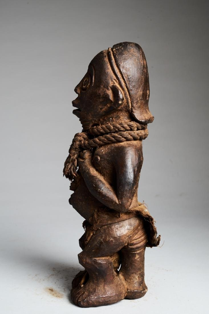 West African Standing Male Statue Tribal Art - 5