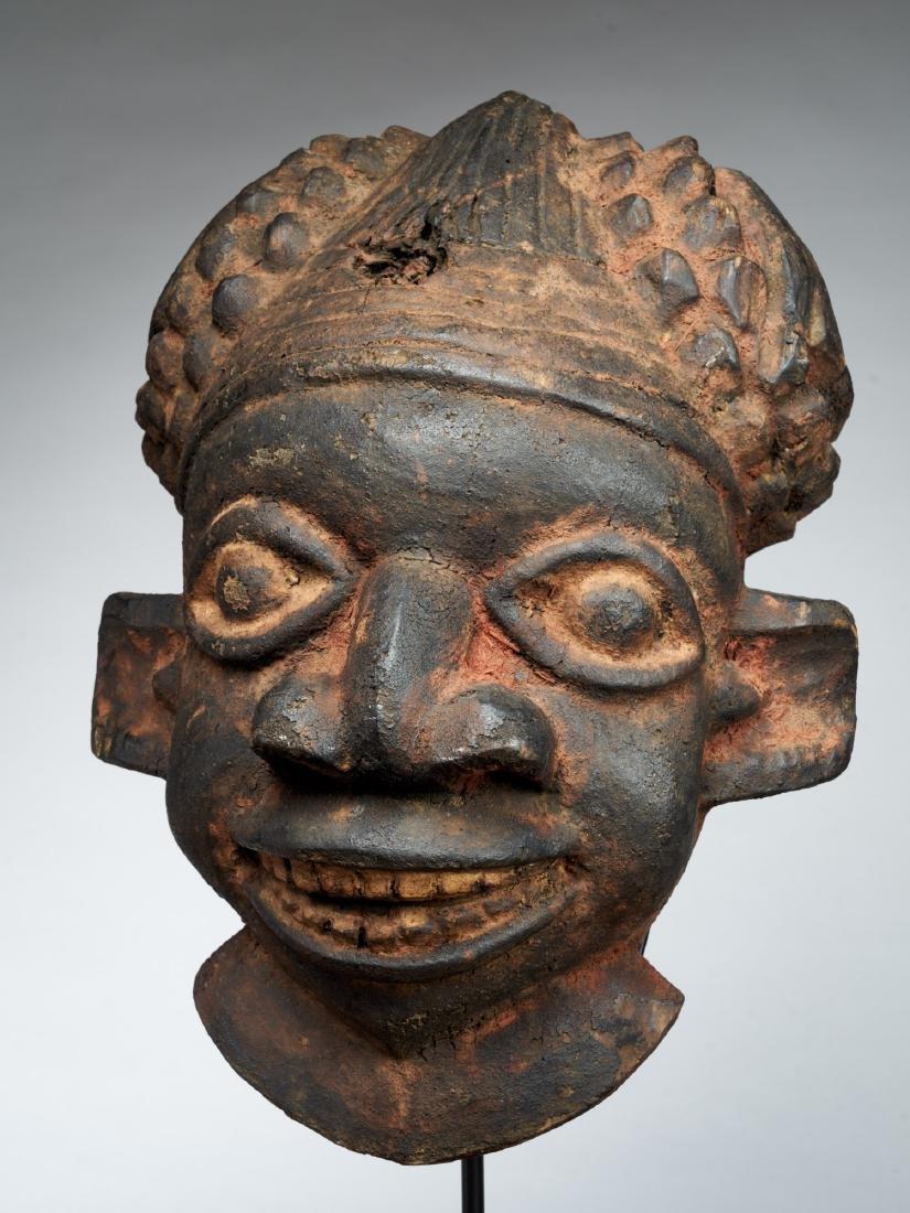 Bamoum/Kom Face Mask from Cameroon Grassland Tribal Art