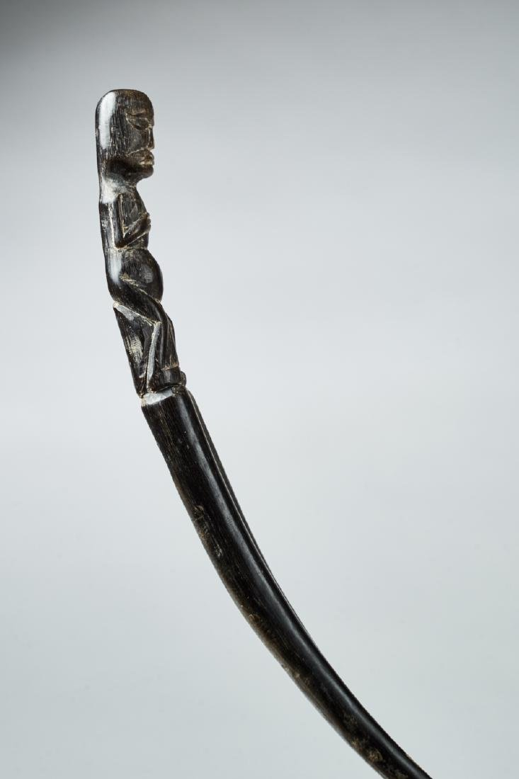 Betel Lime Spoon from Papoua Tribal Art - 2