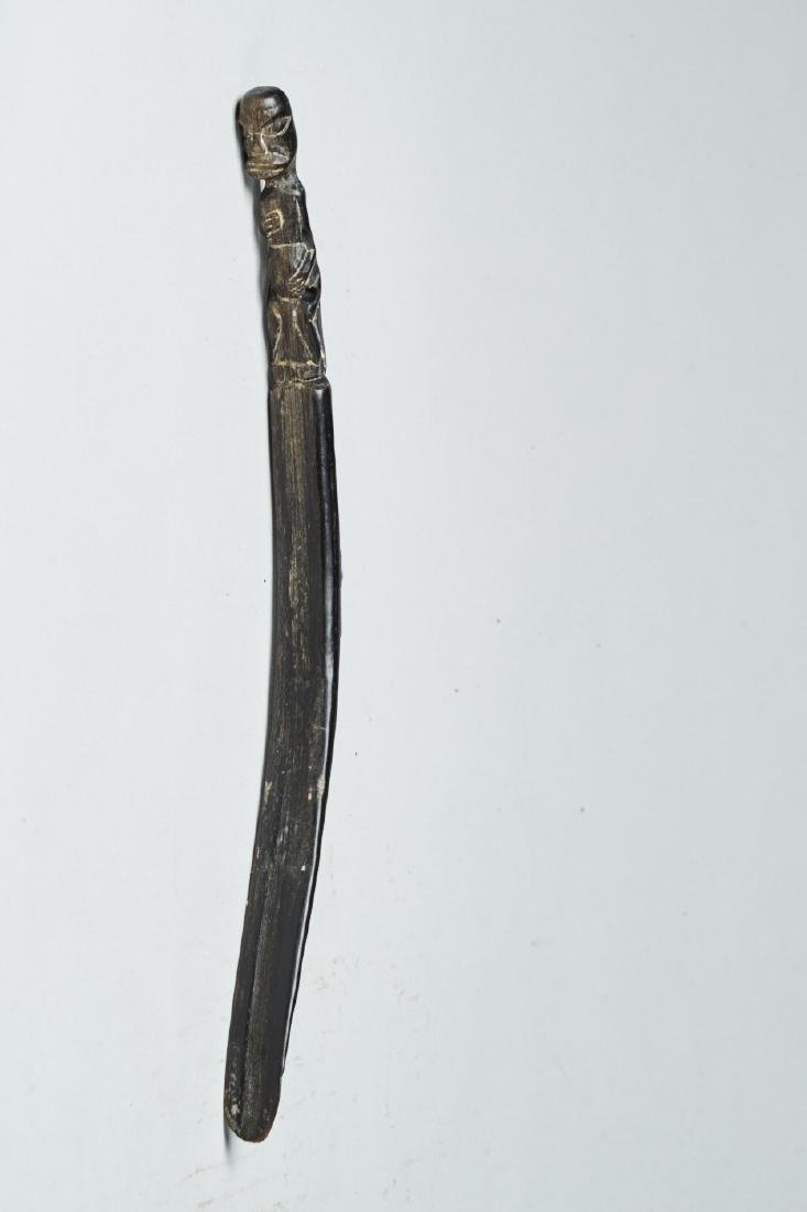 Betel Lime Spoon from Papoua Tribal Art - 5