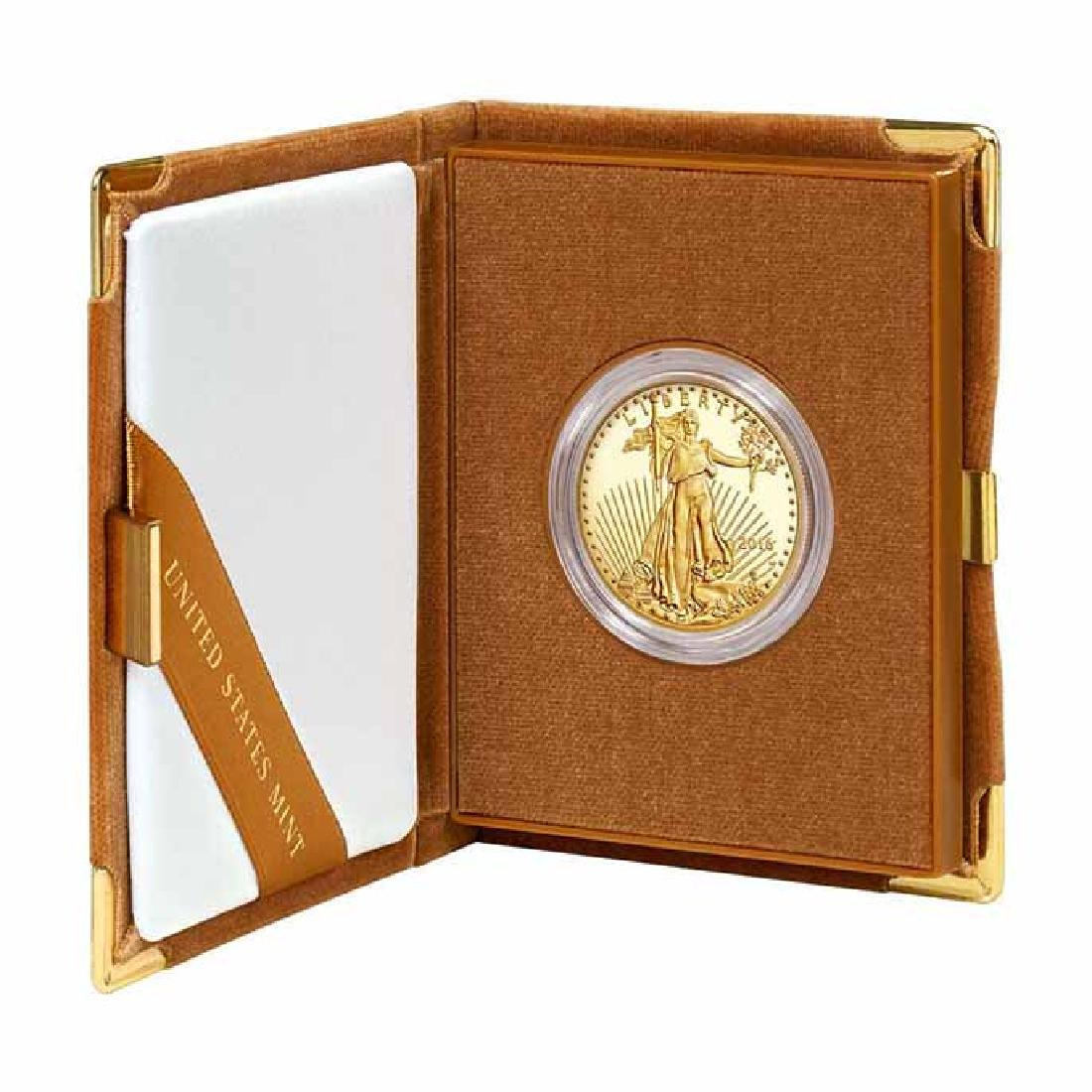 Proof American Gold Eagle One Ounce 2016