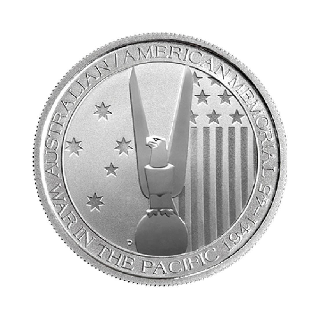 2013 Australian 1/2 oz Silver American Memorial War In