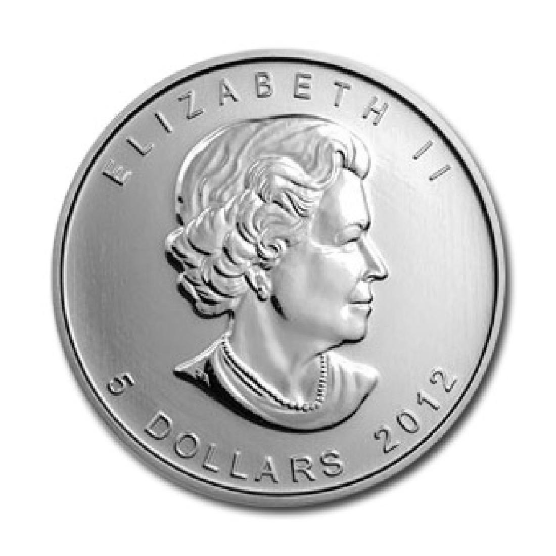 2012 Silver Maple Leaf 1 oz Uncirculated