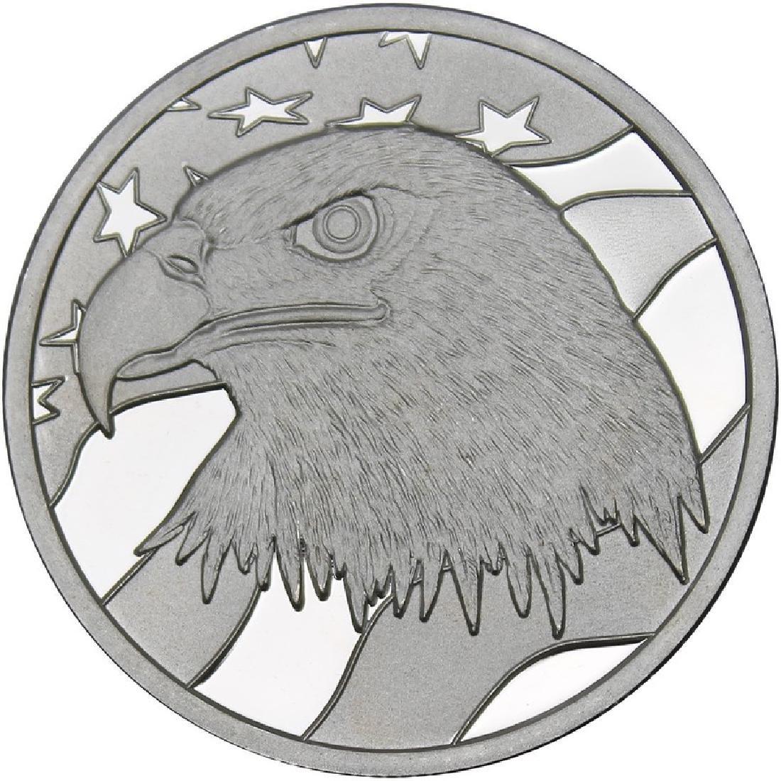 Pledge Of Allegiance .999 Silver 1 oz Round