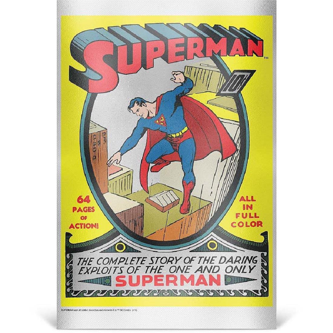 2018 35 gram Silver Foil DC Comics Superman #1