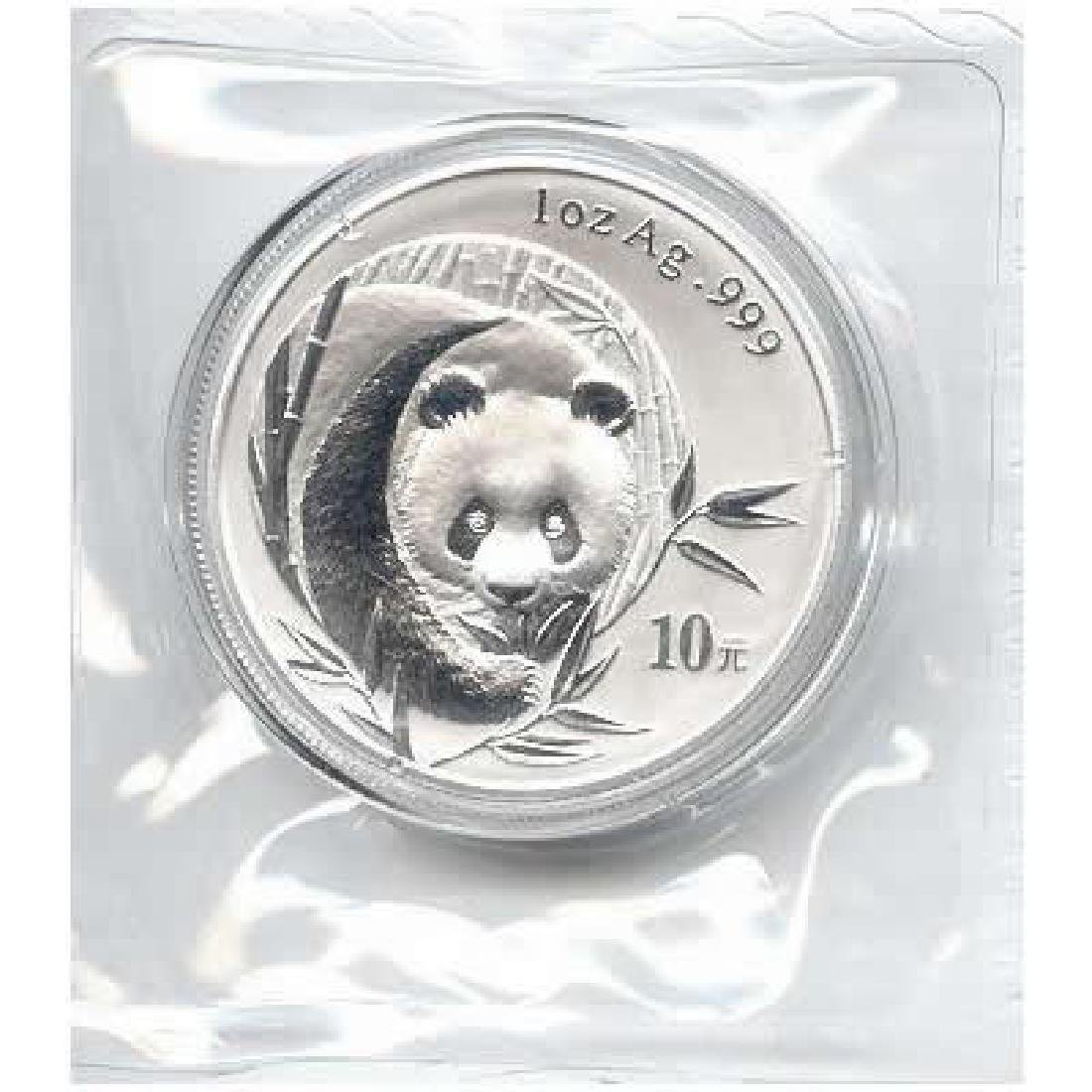 2003 Chinese Silver Panda 1 oz - Frosted Version