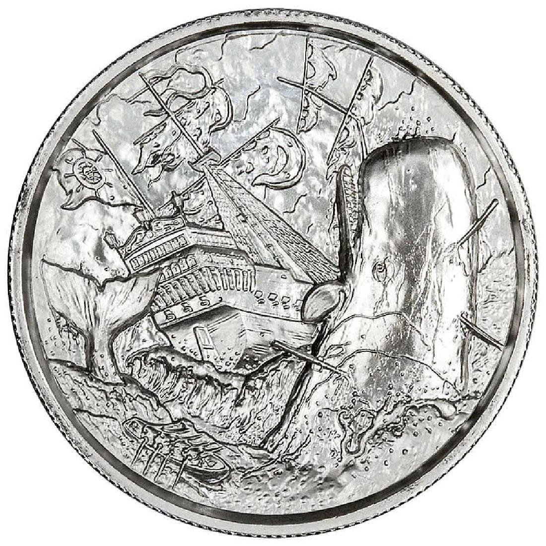 Elemetal Mint 2 oz High Relief Silver Round - The White