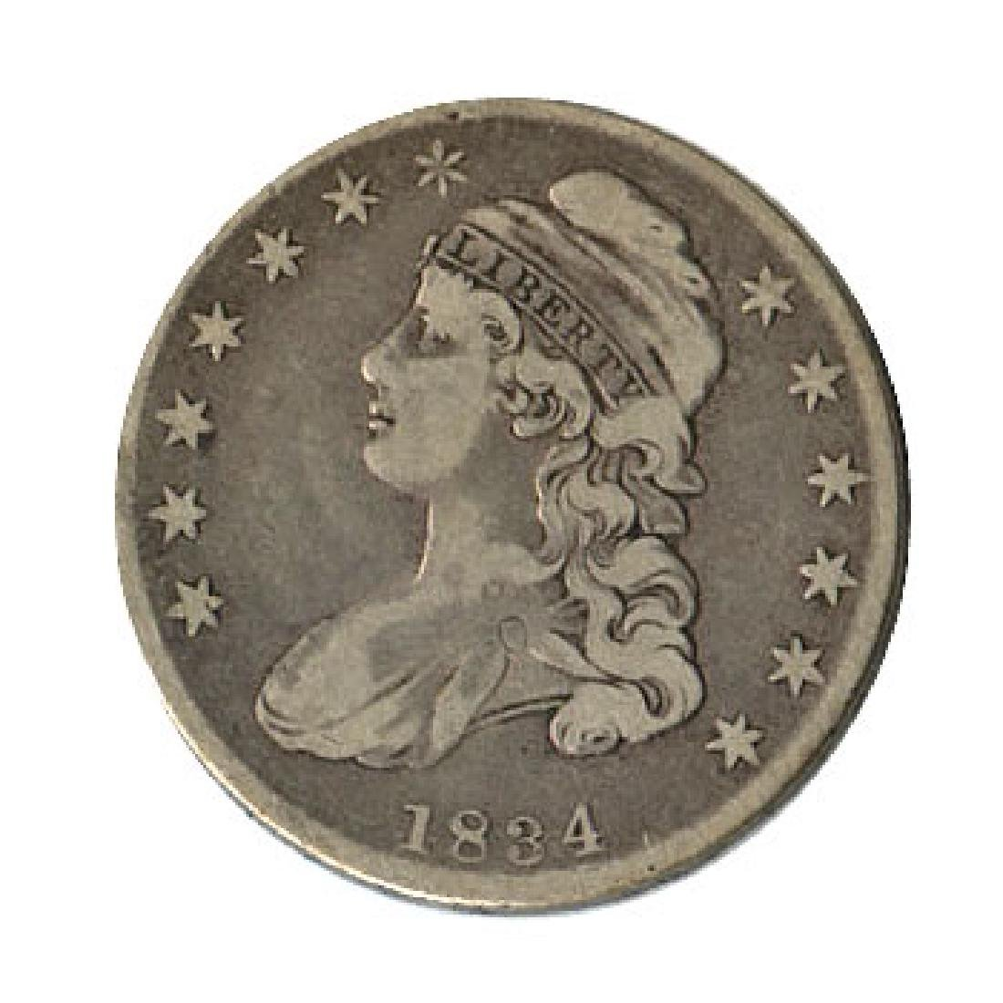 Early Type Capped Bust Half Dollar 1807-1836 G-VG