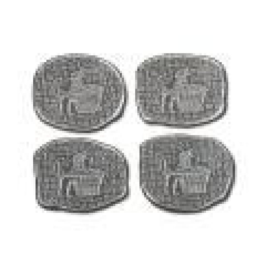 1 oz Egyptian God Anubis Silver Relic Bar - 5pc. Set