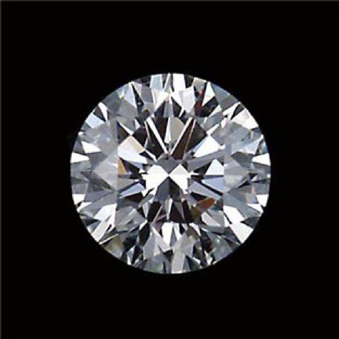 IGI CERTIFIED 0.7 CTW F/I2 ROUND DIAMOND