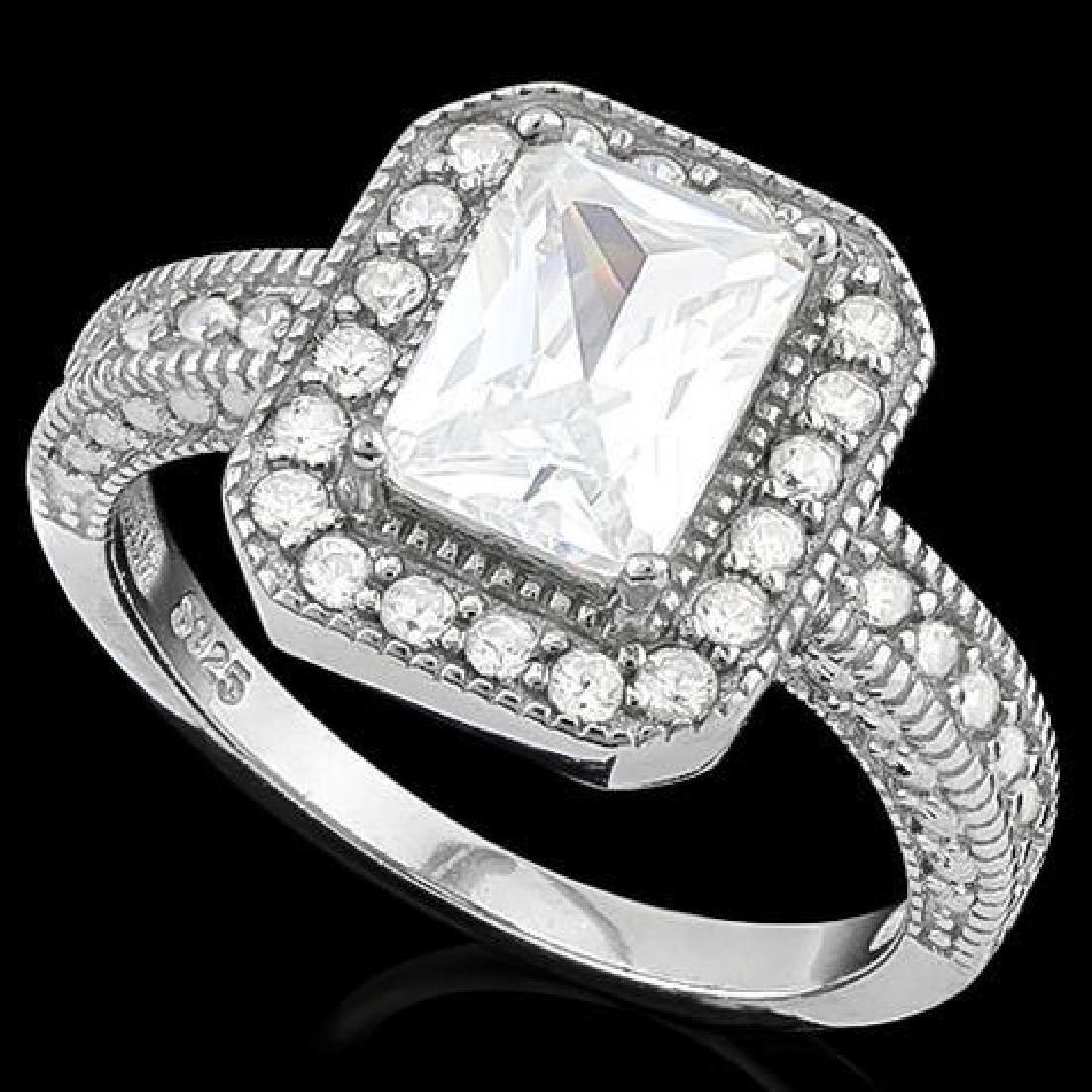 2 CARAT (35 PCS) FLAWLESS CREATED DIAMOND 925 STERLING