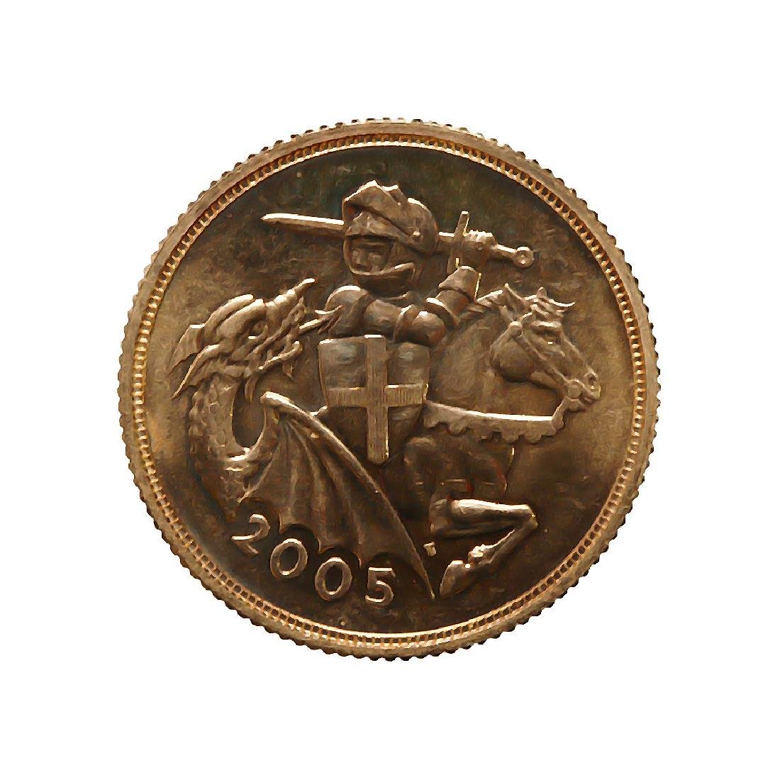 Great Britain Gold Sovereign 2005 PF