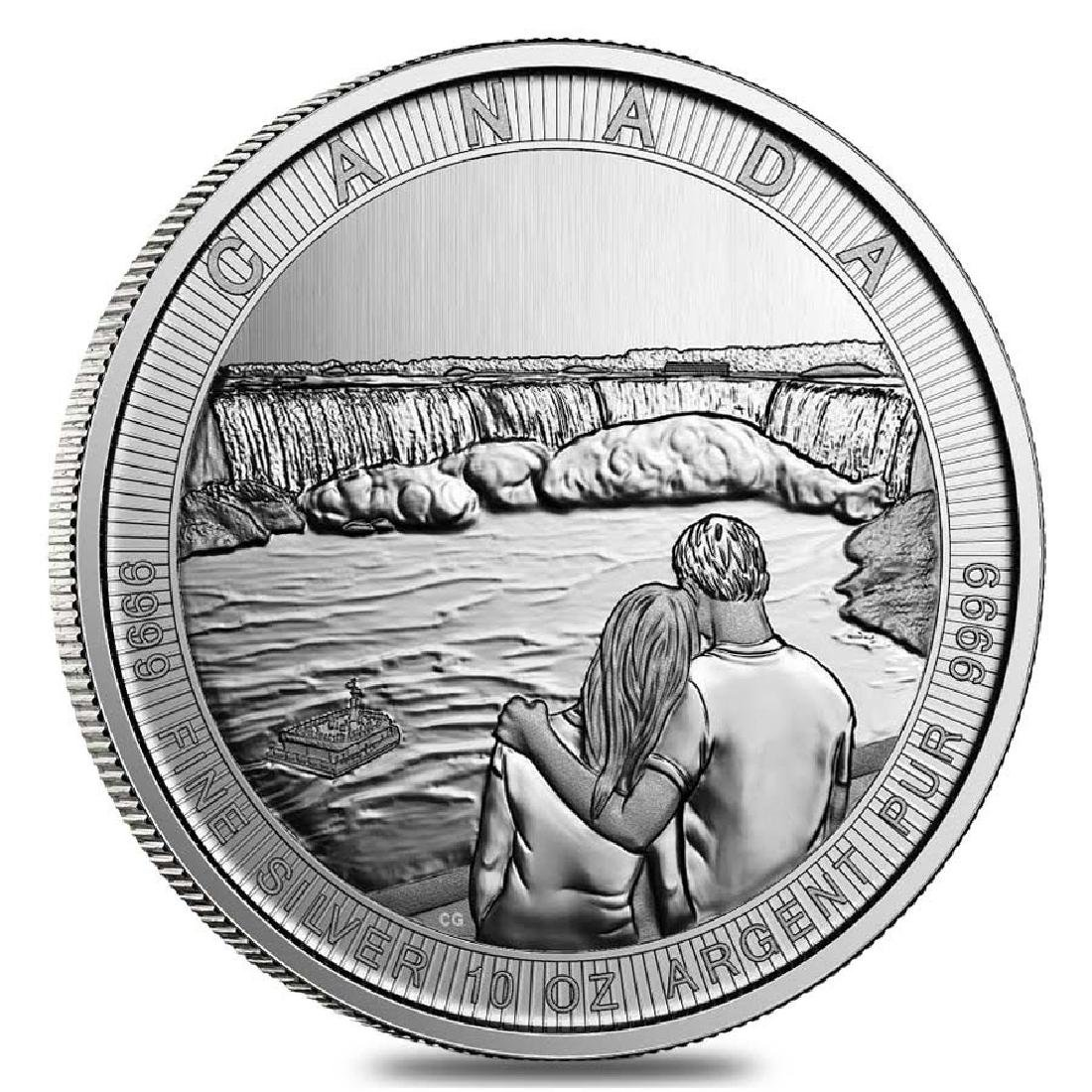 2017 10 oz Silver Canada the Great CTG Niagara Falls $5