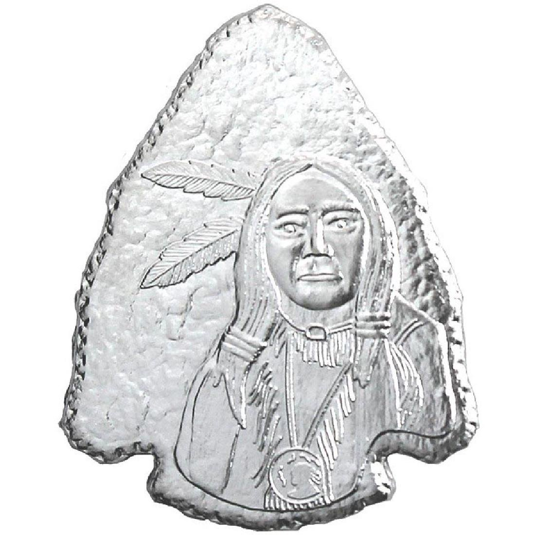 Arrowhead .999 Silver 1 oz Bar