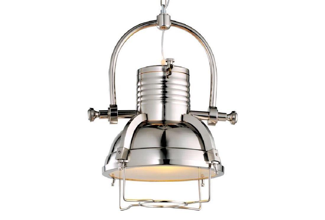 Large Steel Pendant Lamp