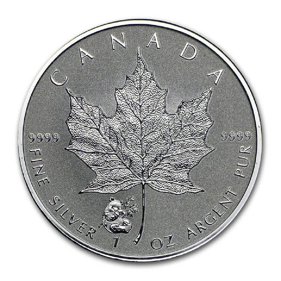 2016 Canada 1 oz. Silver Maple Leaf Reverse Proof Panda