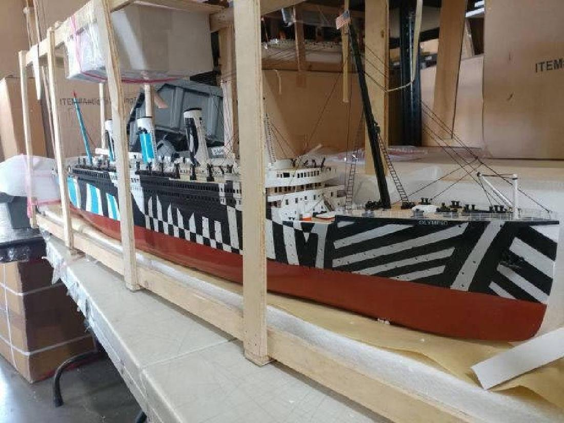 Ready To Run Remote Control RMS Olympic 50in. Limited