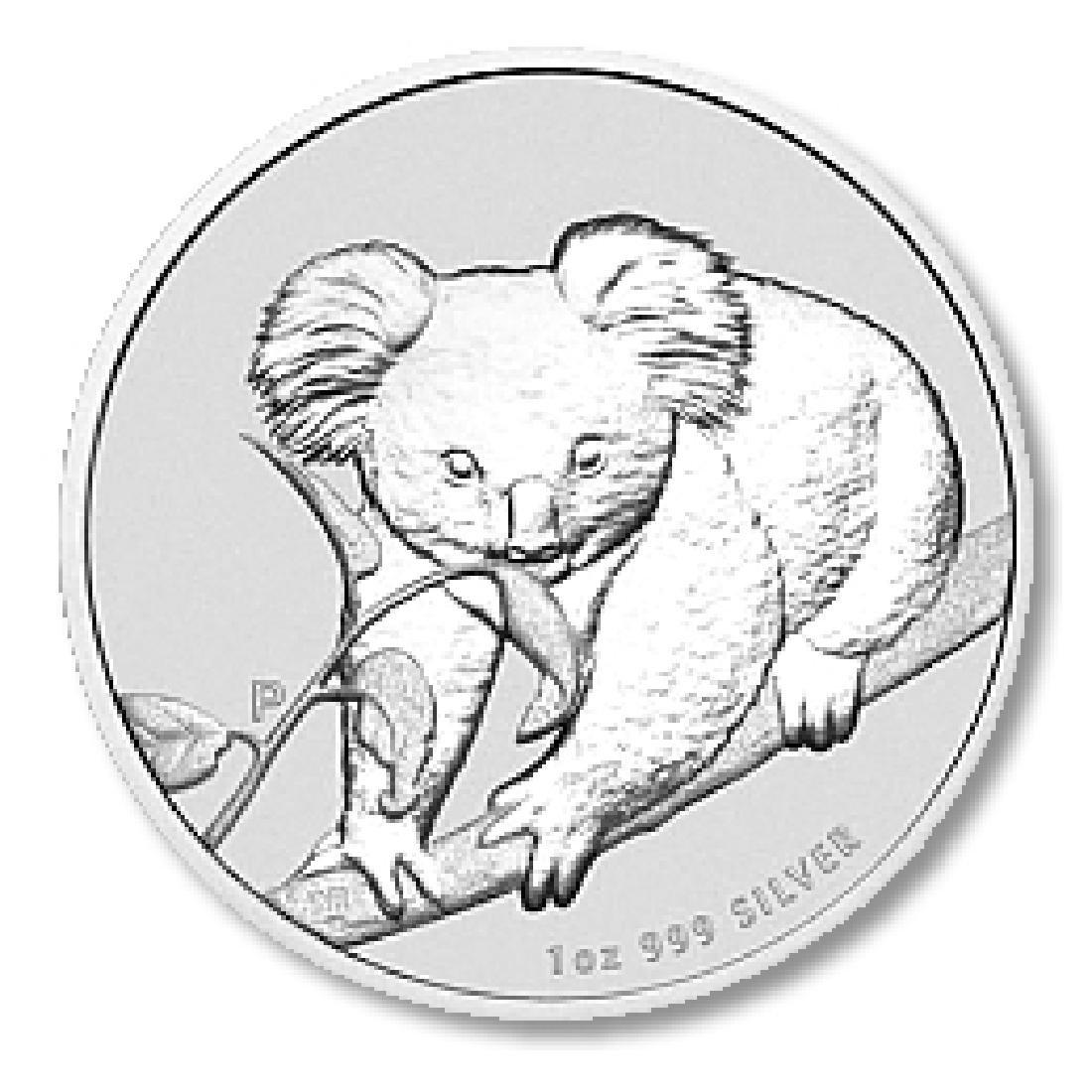 Australian Koala 1 Ounce Silver 2010